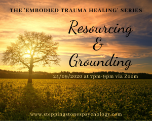 The 'Embodied Trauma Healing' Series – Week 2