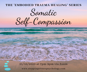 The 'Embodied Trauma Healing' Series – Week 5