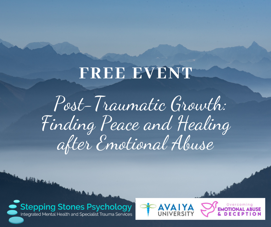 Post-Traumatic Growth: Finding Peace and Healing after Emotional Abuse